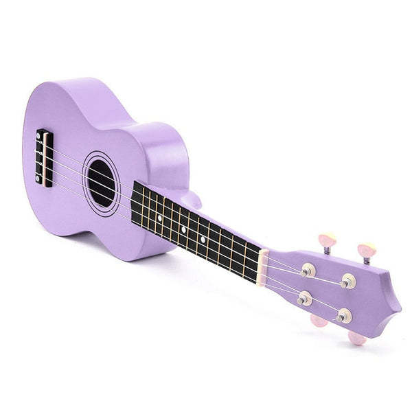 Zebra Rains 21 inch Soprano Ukulele Basswood Nylon 4 Strings Acoustic Guitar Ukulele Musical Stringed Instrument for Beginner