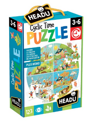 Headu Cyclic Time Puzzle