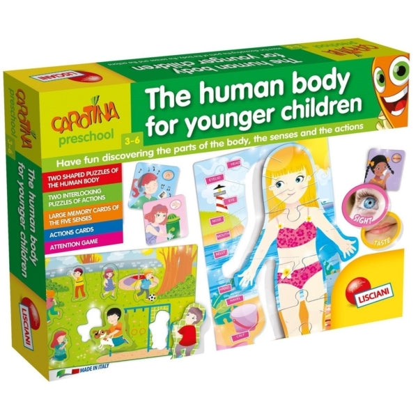 Lisciani Le Corps Humain pour les Petits / Human Body for Younger Children