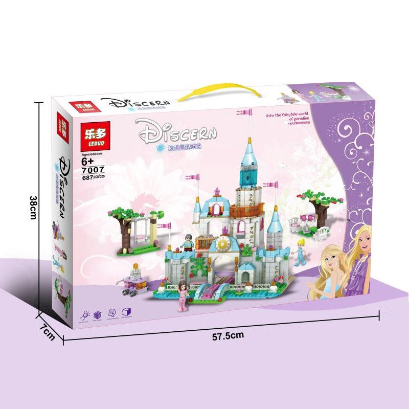 Leduo Disney Castle 7007