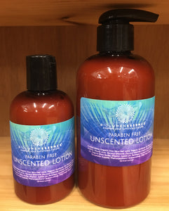 Paraben Free Unscented Lotion