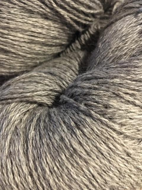 Bulk 6 Skeins Icelandic Wool Yarn Gray Bulky 3-ply 110 yards 3.5 oz - Warp or Outerwear - Copia Cove Icelandic Sheep & Wool