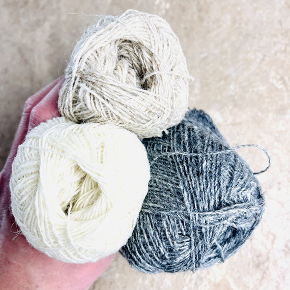 Icelandic Sheep Wool Lace Weight Einband Lopi Wool Yarn 18 Colors - 50g skein from Lopi Brand Iceland - Copia Cove Icelandic Sheep & Wool