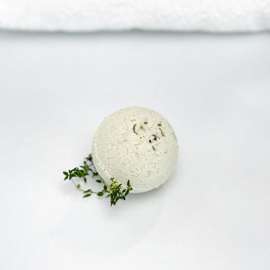 Icelandic Spa Collection Sheep Milk Bath Bomb Fizzie - Wooded Tundra - Copia Cove Icelandic Sheep & Wool