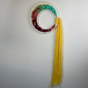 Crescent Moon Round Weaving - Moon Series