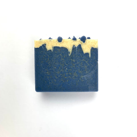 Sheep Milk Soap - Blue Icicle Bar - Handmade Bars - Cold Process - Palm Oil Free