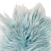 Premium Icelandic Sheepskin Rug Aquamarine Long Wool - Copia Cove Icelandic Sheep & Wool