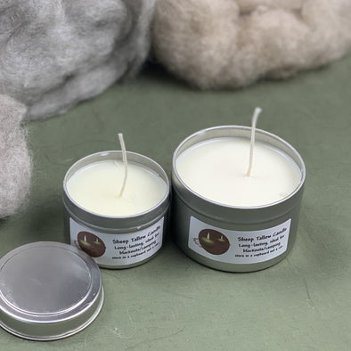 Survival Candle with Pure Sheep Tallow - Copia Cove Icelandic Sheep & Wool