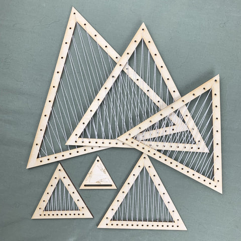 Triangle Pop Out Looms Weaving Craft Kit