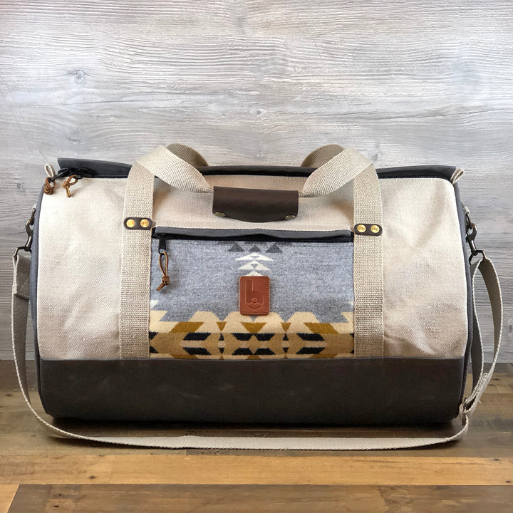Large Wool Destination Duffel