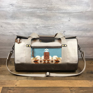 Small Wool Destination Duffel