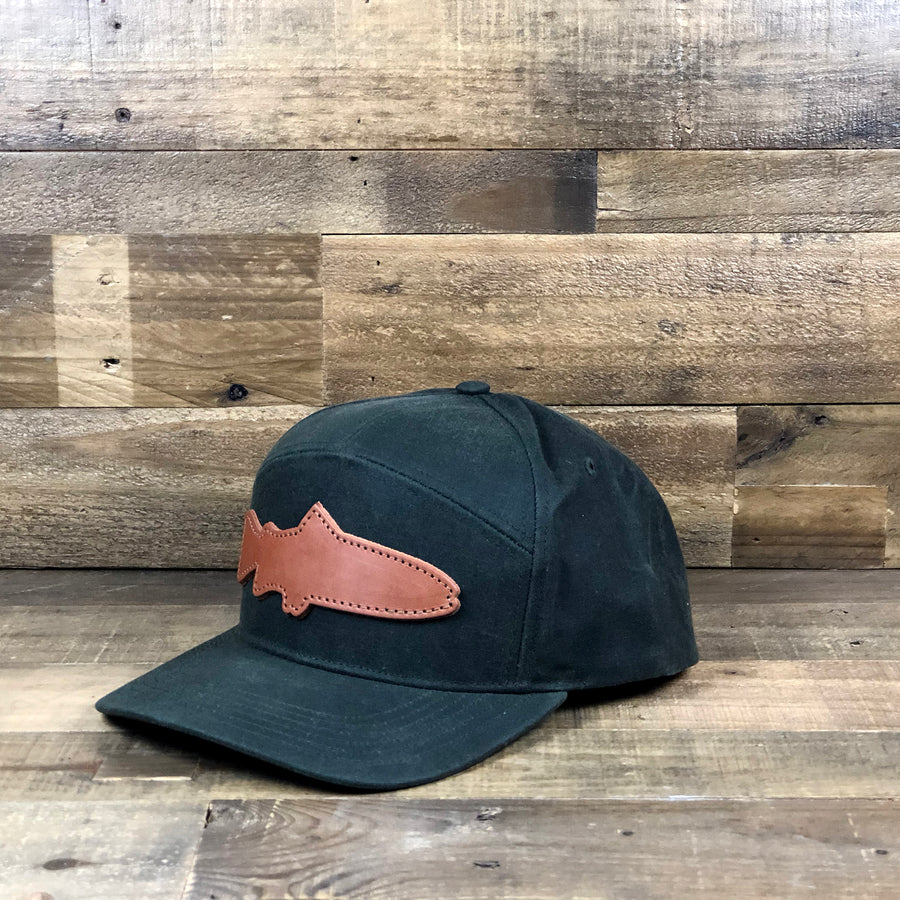 Waxed Trout New School Cap