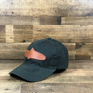 Waxed Trout Cap