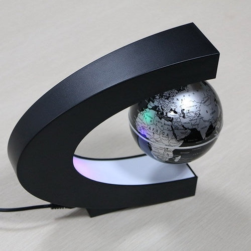 LED Lights Magnetic Levitation World Map