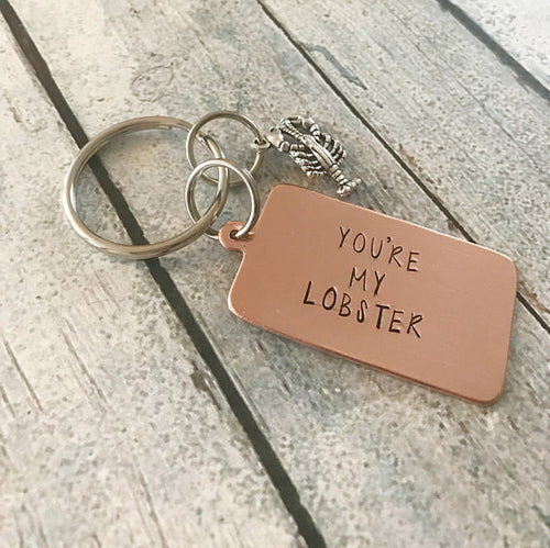 You're my lobster - FRIENDS keychain