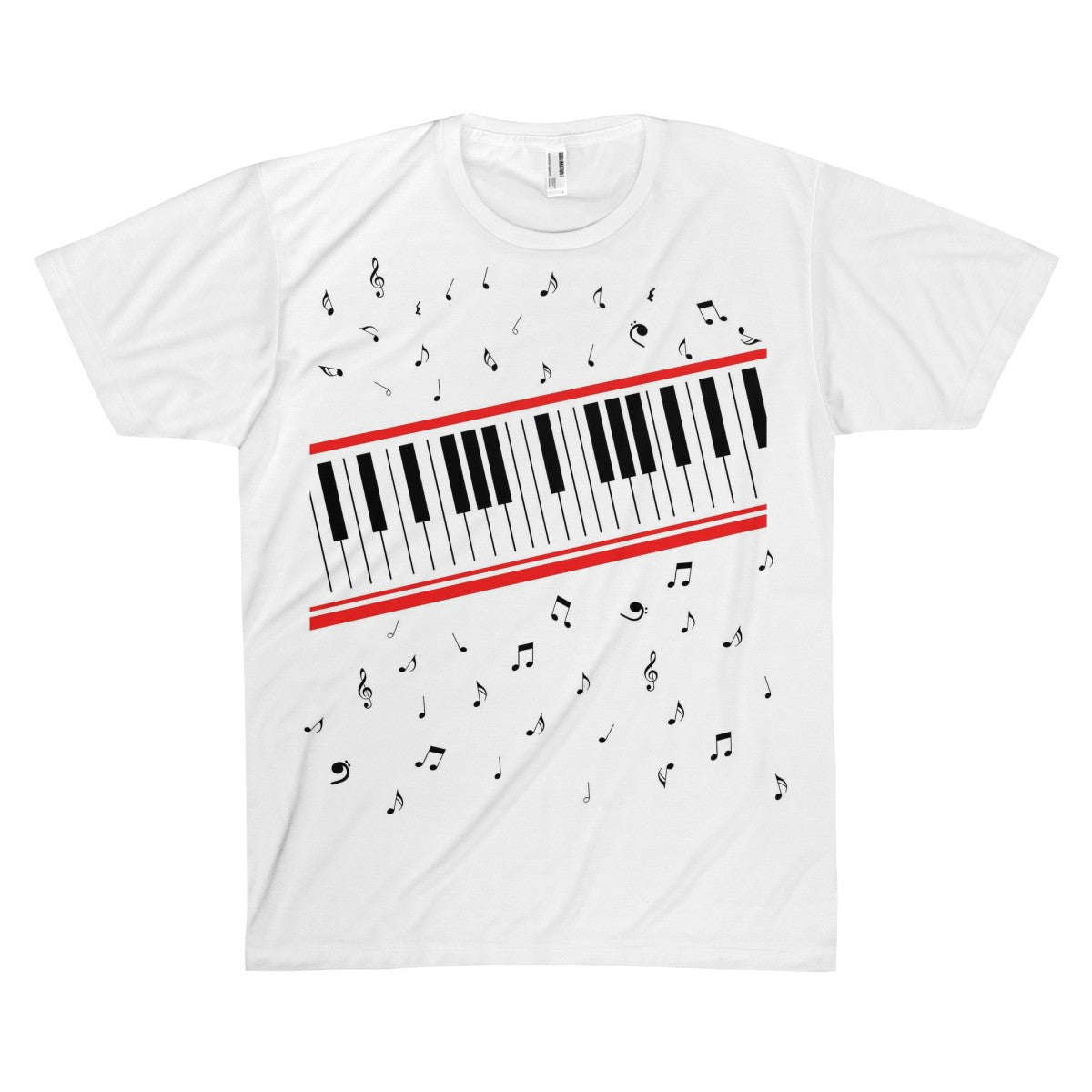 Michael Jackson Beat It Piano Tee