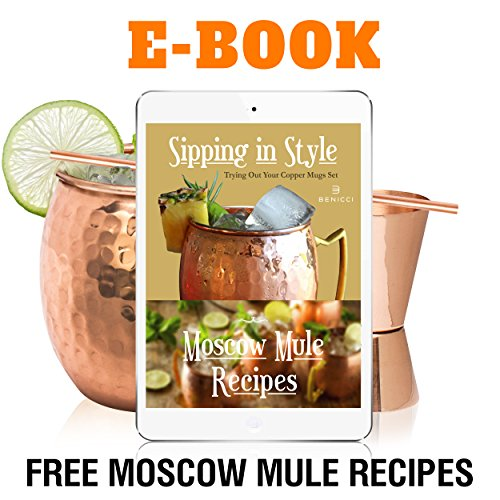 Moscow Mule Copper Mugs - Set of 4