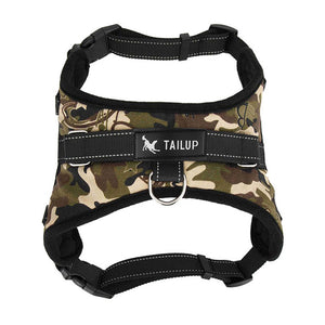 Dog Harness Collar Soft Adjustable Harness Vest  - M/L
