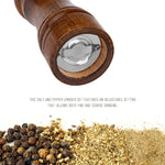Salt And Pepper Grinder  - Oak Wood