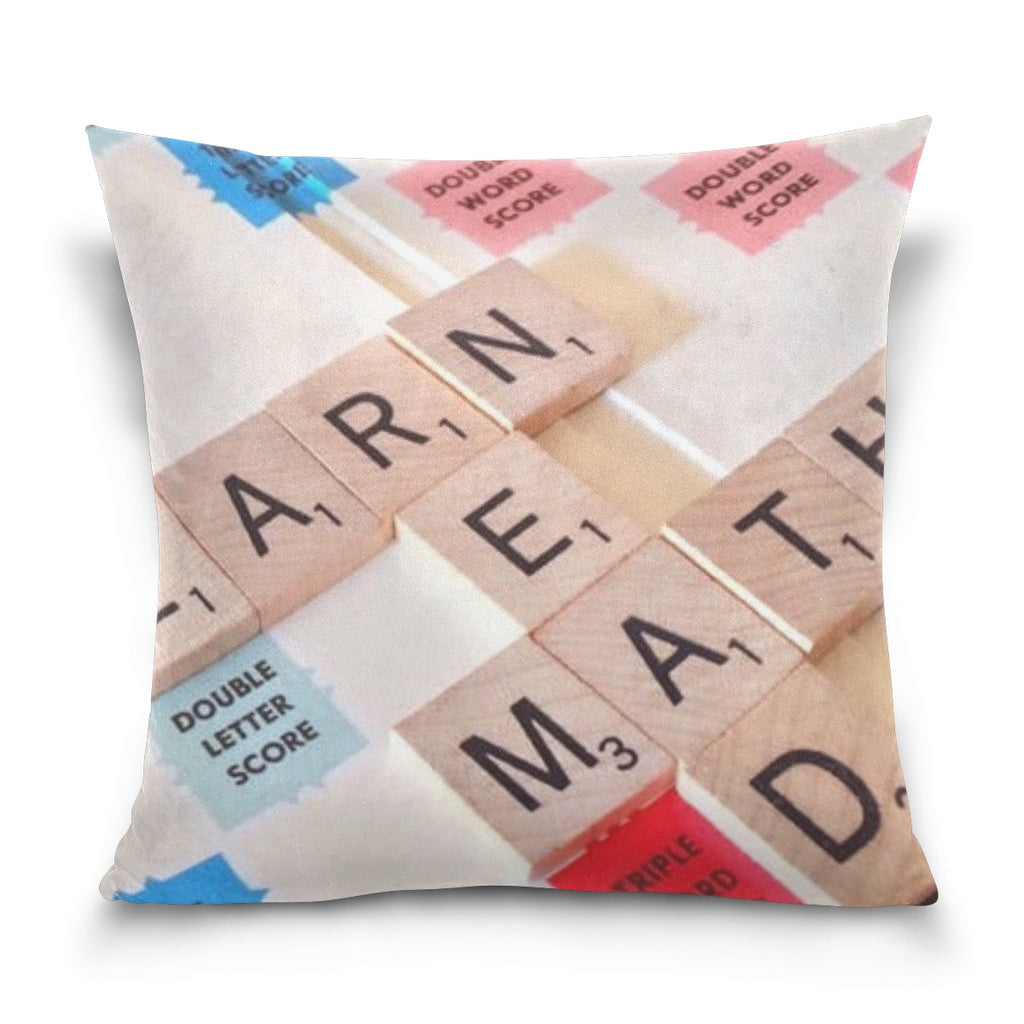 Throw Pillow - Letters