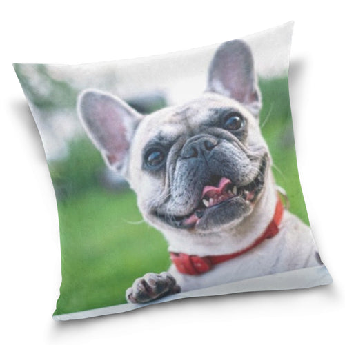 Throw Pillow - Puppy Love