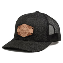 Load image into Gallery viewer, Florida Flag Wooden Patch Trucker Cap By Union Standard Hat Company