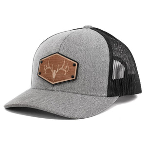 Engraved Wooden Patch Trucker Cap Snapback Hat By Union Standard