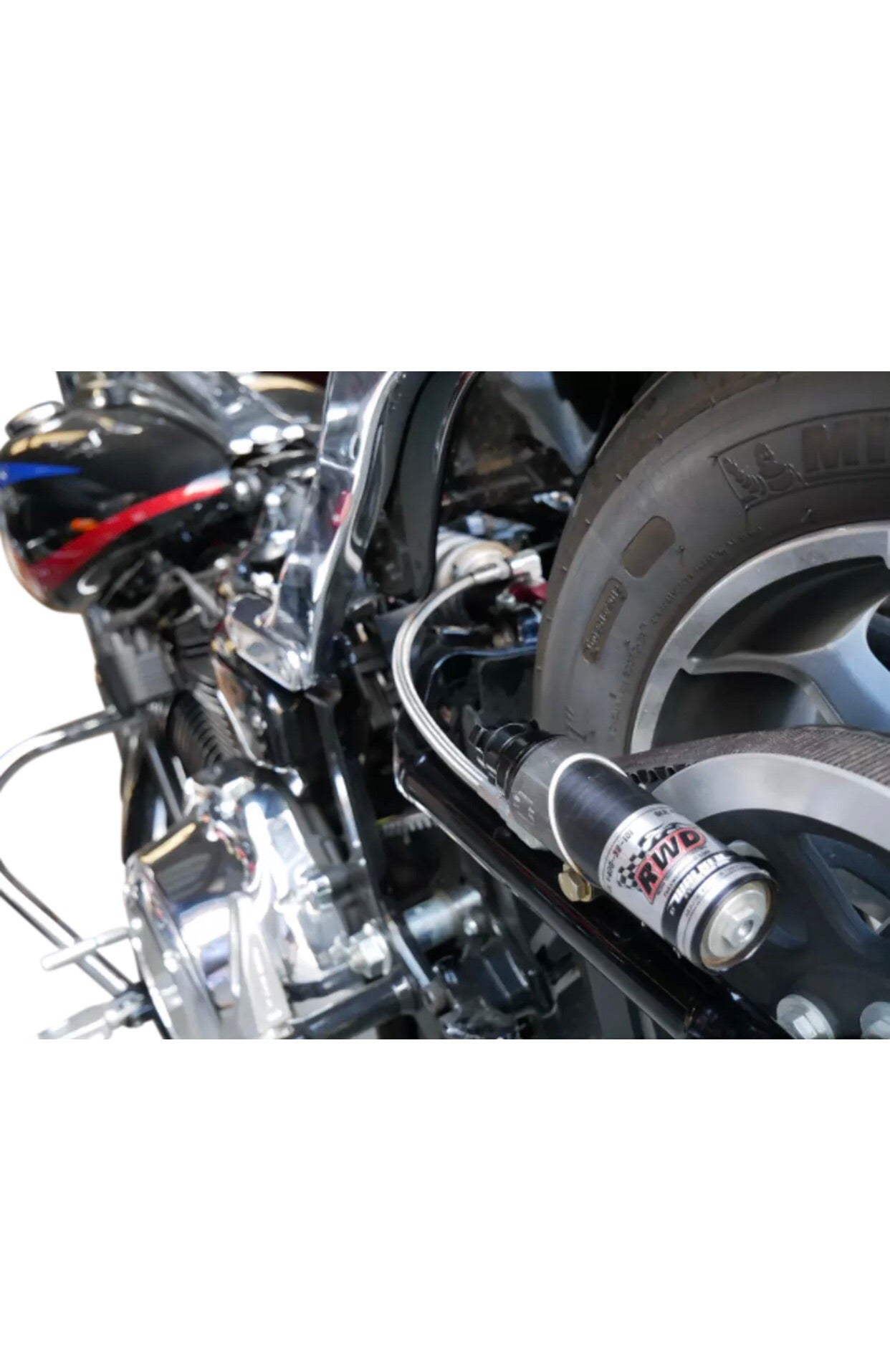 "RWD 13.5"" M-EIGHT SOFTAIL SHOCK"