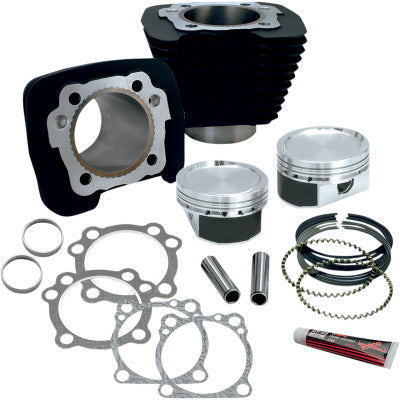 S&S CYCLE XL 883 to 1200 Conversion Kit (Black)