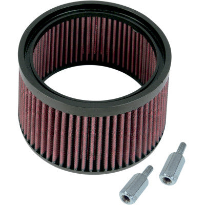"S&S CYCLE Optional Stealth Hi-Flo Filter Kit (1"" Taller)"