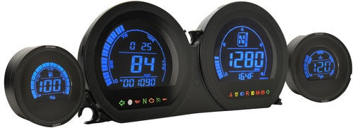 KOSO HD-03 SERIES TOURING GAUGE CLUSTER