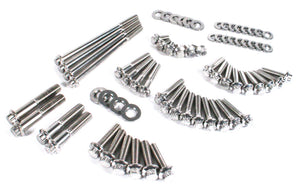 TC Dyna 06-17 Primary and Transmission Stainless 12 point kit