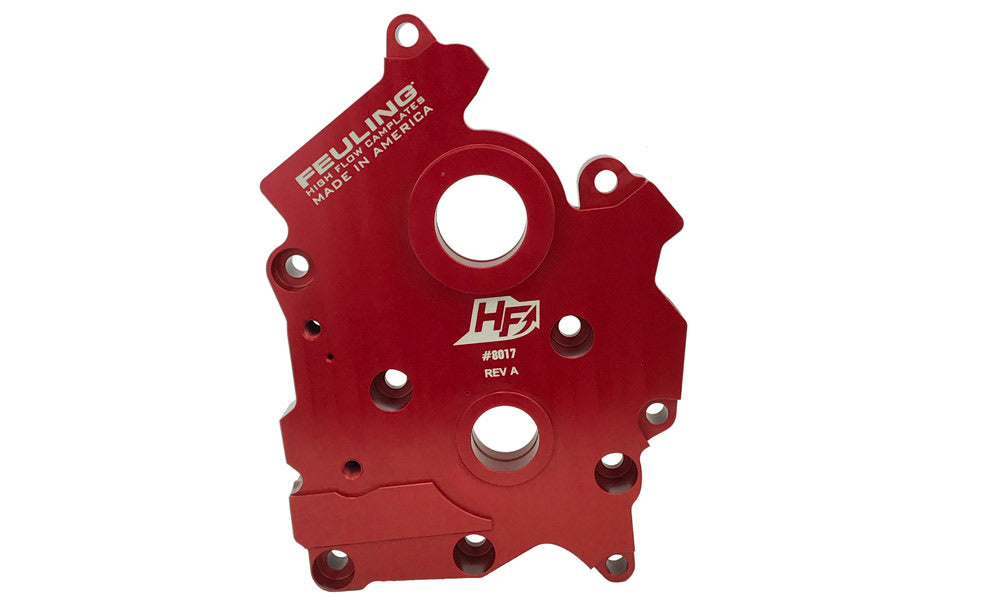 FEULING HIGH FLOW M8 CAMPLATE - gear or chain drive