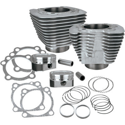S&S CYCLE XL 883 to 1200 Conversion Kit (silver)