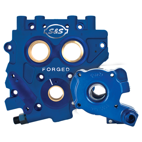 S&S TC3 OIL PUMP AND CAM SUPPORT PLATE KIT