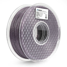 Load image into Gallery viewer, AMOLEN 3D Printer Filament, Shiny 1.75mm PLA Filament +/- 0.03 mm, 1KG(2.2lb).