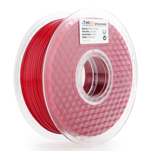 AMOLEN 3D Printer Filament PETG 1.75mm +/- 0.03 mm, 1kg(2.2LBS) Spool.