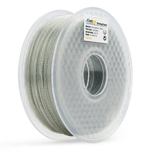 AMOLEN 3D Printer Filament, Shiny 1.75mm PLA Filament +/- 0.03 mm, 1KG(2.2lb).