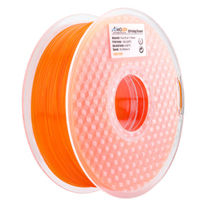 AMOLEN 3D Printer Filament, Fluorescent PLA Filament 1.75mm +/- 0.03 mm, 1KG(2.2LB).
