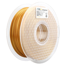 Load image into Gallery viewer, AMOLEN 3D Printer Filament, Real Gold PLA Filament 1.75mm +/- 0.03 mm, 2.2LBS(1KG).