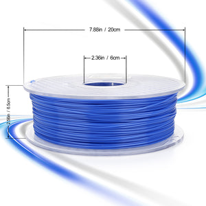 AMOLEN PLA Filament 1.75mm, Color Changing with Temperature, 3D Printer Filament +/- 0.03, 1kg/2.2lb