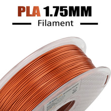 Load image into Gallery viewer, AMOLEN 3D Printer Filament, Frosted Copper 1.75mm PLA Filament +/- 0.03 mm, 1KG(2.2lb).