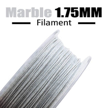 Load image into Gallery viewer, AMOLEN 3D Printer Filament, Marble Color 1.75mm PLA Filament +/- 0.03 mm, 1KG/2.2LB.