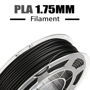 AMOLEN 3D Printer Filament, Conductive Black PLA Filament, 200G(0.44lb).