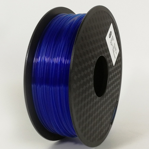 AMOLEN 3D Printer Filament Transparent PLA 1.75mm +/- 0.03 mm, 1kg(2.2LBS).