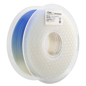 AMOLEN PLA Filament 1.75mm, UV/Sunlight Color Change, 3D Printer Filament +/- 0.03 mm, 1kg(2.2lb).