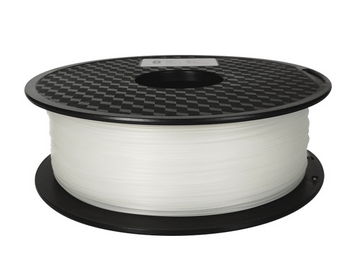 AMOLEN 3D Printer Filament, White Nylon Filament 1.75mm +/- 0.03 mm, 2.2LBS(1KG).