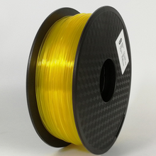 Load image into Gallery viewer, AMOLEN 3D Printer Filament Transparent PLA 1.75mm +/- 0.03 mm, 1kg(2.2LBS).