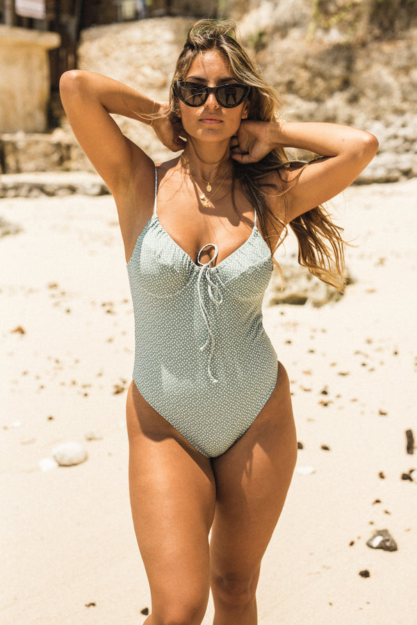 Mia One Piece Sky Green
