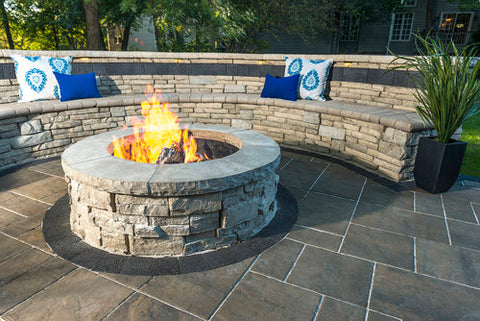 build-in fire pit